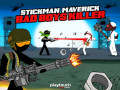 Hry Stickman Maverick: Bad Boys Killer